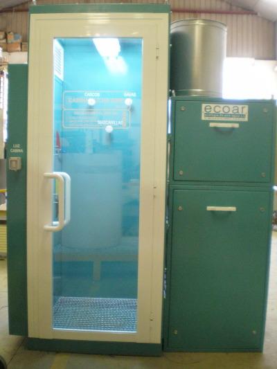 Cabina ducha aire air shower cabina desempolvadora - Cabina de ducha ...